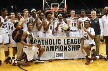 The U-D Jesuit Cubs defeated the Warren De LaSalle Pilots 70-45 in the CHSL A-B final held on Sunday February 28, 2016 at Calihan Hall in Detroit. (Ken Swart / MIPrepZone)