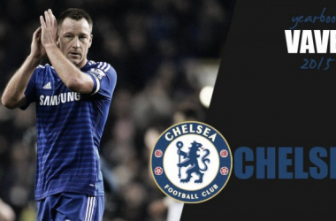Chelsea captain John Terry played every minute of every Premier League game for the Blues in the first half of 2015, but suffered a poor run of form in the start of their title defence.
