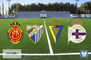 Mallorca, Málaga, Cádiz y Deportivo lucharán por jugar la promoción de ascenso // VAVEL.com