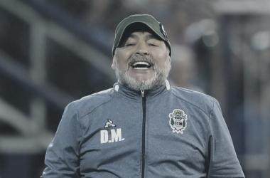 Diego Armando Maradona, en Mendoza