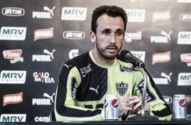 Thiago Ribeiro critica grupo do Atlético-MG após goleada diante do Santos