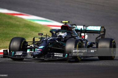 Bottas continues form to top FP2 despite red flag