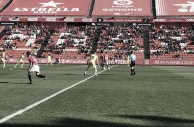 Inicio del partido en el Nou Estadi de Tarragona | NÀSTIC DE TARRAGONA