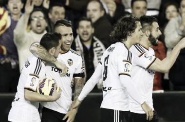 El Valencia sí que pudo con el Real Madrid