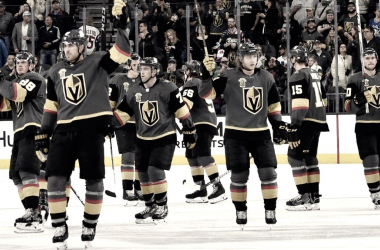 Vegas Golden Knights dominate (Photo Courtesy of Espn.com)