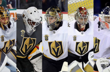 All goalies pictured above made appearances in the NHL last season. | Photo: Knights Round Table.