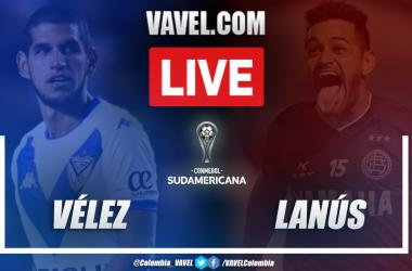 Resumen Vélez vs Lanús (0-1)