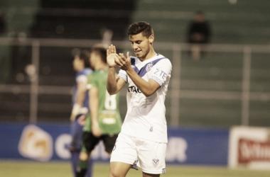 Lucas Robertone (foto) fue uno de los goleadores del partido. Ya lleva cinco. Foto: Canal 13 San Juan.