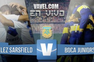 Resultado del partido Vélez Sarsfield - Boca Juniors por el Campeonato de Primera División 2015 (2-0)