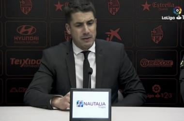 """Julio Velázquez: """"El resultado de hoy ha sido muy injusto"""""""