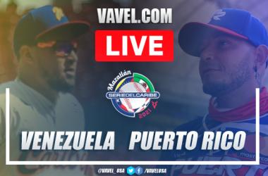 Resumen y carreras: Venezuela 0 - 3 Puerto Rico en Serie del Caribe 2021