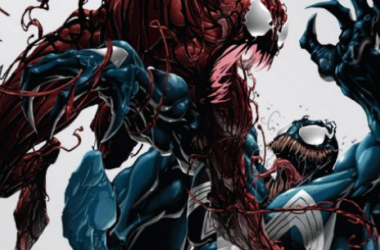 "Venom and Carnage have one of the premier Marvel rivalries. image source ""cinemablend.com"""