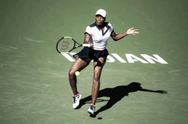 Venus Williams, primera rival de Petra Kvitova en Indian Wells