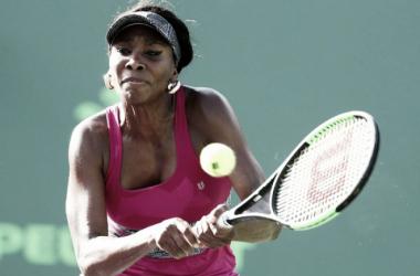 Venus Willians avanza en Miami