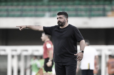 """Gennaro Gattuso aponta fatores para vitória do Napoli: """"Combinação de aplicação e intensidade"""""""