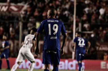 Diego Vera llegó como faro de gol: rindió en las primeras fechas, luego se pinchó (Foto: Tigre Oficial).