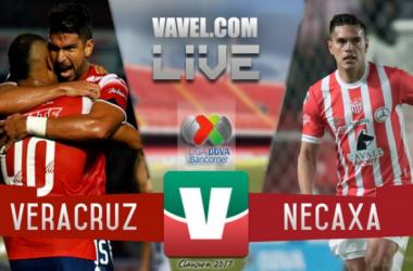 Veracruz vs Necaxa en vivo online en Liga MX 2017 (0-0)