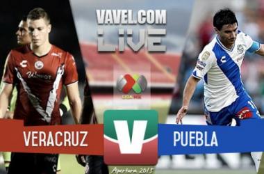 Resultado Veracruz - Puebla en Liga MX 2015 (2-1)