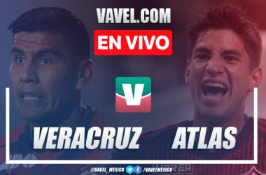 Resumen y goles Veracruz 1-2 Atlas en Apertura 2019 Liga MX
