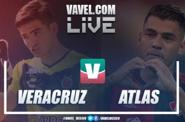 Resumen y goles del Veracruz 0-1 Atlas en Liga MX 2019