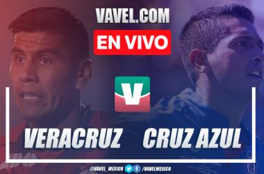 Resumen Veracruz 0-0 Cruz Azul en Apertura 2019