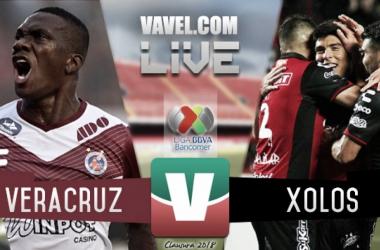 Resultado del partido Veracruz vs Xolos Tijuana en Liga MX 2018 (1-0)