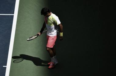 Fernando Verdasco durante el último US Open. Foto: zimbio.com