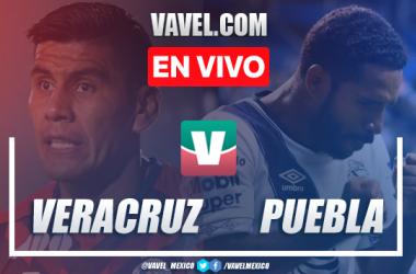Resumen y video goles Veracruz 1-0 Puebla en Apertura 2019