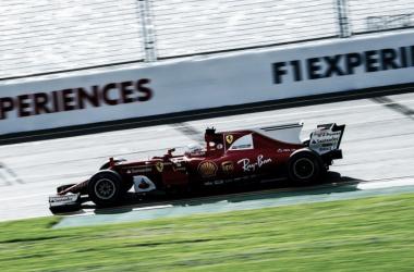 Sebastian Vettel ainda definiu o recorde da pista de Albert Park nesse terceiro treino livre (Foto: Divulgação/Scuderia Ferrari)