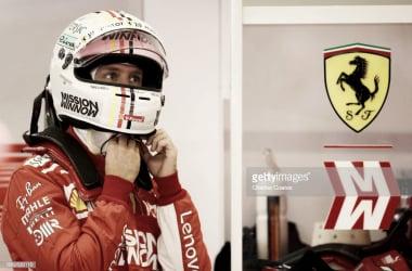 Sebastian Vettel en Austin | Fuente: Getty Images