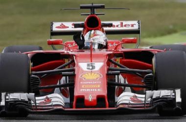 Formula 1 - Vettel il più veloce in Giappone sull'asciutto. Poi è nubifragio