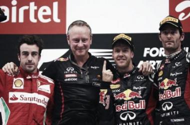 Previa histórica Gran Premio de India: 2012, nadie puede con Vettel