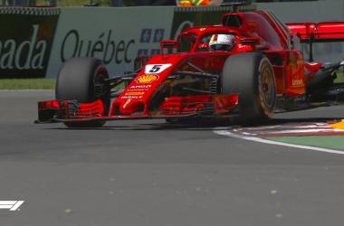 Sebastian Vettel sfreccia in Canada e conquista la pole (twitter - @F1)