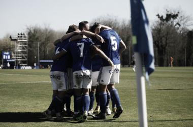 Celebración del Vetusta | Imagen: Real Oviedo