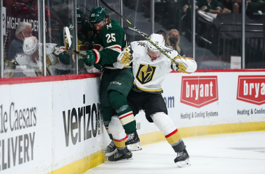 Vegas looking to take full control of the series vs Wild