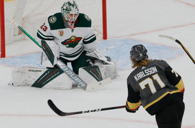 Vegas looking to even series vs Minnesota in Game 2