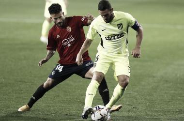 Imagen del encuentro de la primera vuelta / Twitter: Atlético de Madrid
