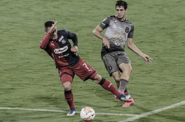 Puntuaciones en el DIM frente a Caracas por la fecha 3 de Copa Libertadores