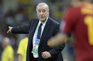"""Del Bosque: """"O esforço é grande, mas chegamos bem até a final"""""""