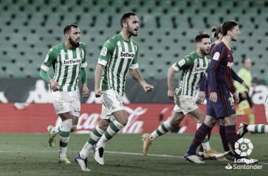 Víctor Ruiz en un partido ante el FC Barcelona.Foto:LaLiga Santander.