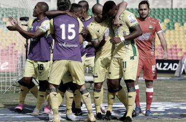 Atlético Bucaramanga volvió a la senda de la victoria