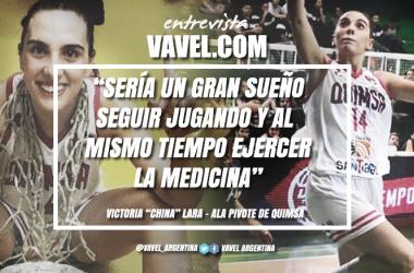 Lara se inició como jugadora en el club Zorros de San Martín de los Andes. Foto: VAVEL