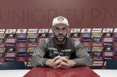 """Sebastián Viera: """"Tenemos experiencia en la Copa Libertadores y la tenemos que demostrar"""""""