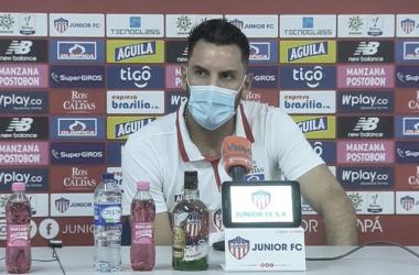 """Sebastián Viera: """"Los partidos que vienen son vitales"""""""