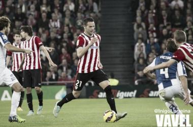 Viguera se apunta el primer tanto del Athletic en Copa