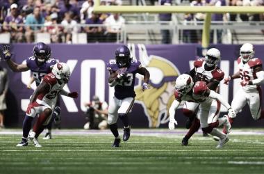 Dalvin Cook fue fundamental un partido más para los Vikings // Foto: Minnesota Vikings