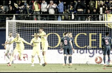 Villarreal - Atlético Madrid | Foto: http://www.lfp.es/