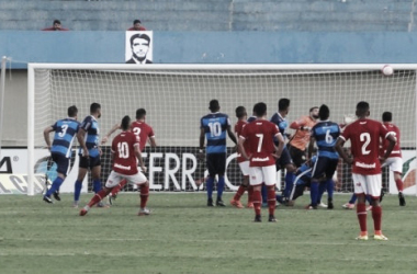 Vila Nova é surpreendido pela Aparecidense e perde invencibilidade na temporada