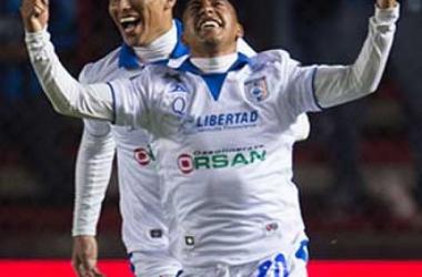 El michoacano debuto con gol,el pasado viernes en contra del Pumas en la fecha dos de la Liga MX.