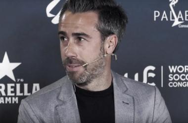 Jorge Vilda durante el debate en el foro del World Soccer Congress | Foto: YouTube